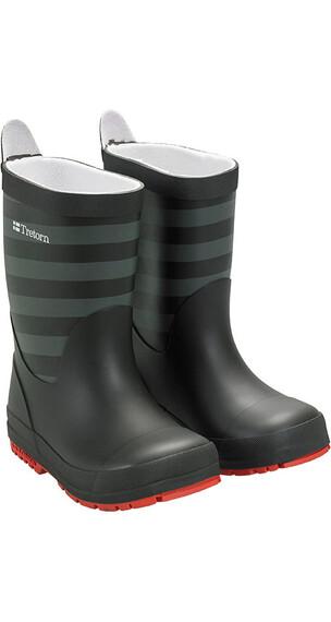 Tretorn Kids Gränna Rubber Boots Black Grey